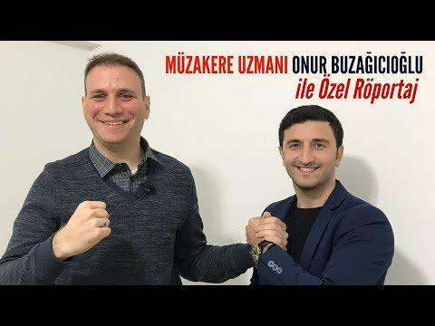 Alişan Konyalı ya Özel Röpörtaj | Müzakere Uzmanı Onur Buzağıcıoğlu