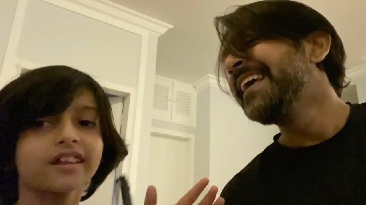 Baire Brishti (বাইরে বৃষ্টি) - Song -Tahsan Khan & Ayra .. Adorable 😍😍😍