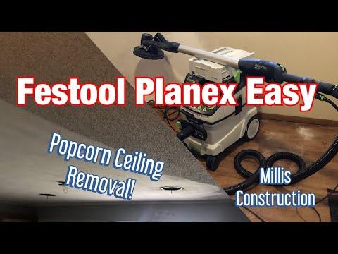 festool-planex-easy-&-popcorn-ceiling-removal!