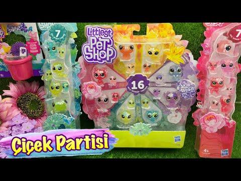 Minişler Çiçek Partisi Koleksiyon Açılımı🌷🌼🌿 || Minişler Cupcake Tv - LPS Littlest Pet Shop