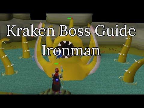 OSRS - Kraken Boss Guide For Ironman