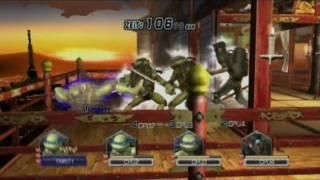 Teenage Mutant Ninja Turtles(TMNT) Smash-UP (Wii) Gameplay