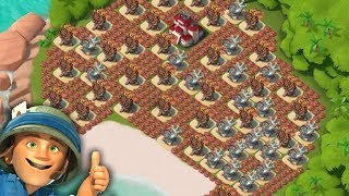 ATTACKING INSANE BASES! USING ALL ZOOKAS! Boom Beach Gameplay