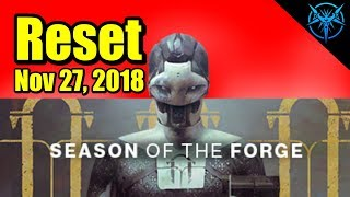 🔴 Season of the Forge Begins! - Destiny 2 Weekly Reset Live - Destiny 2 Live Gameplay 🔴