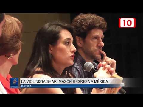 Anuncia OSY el retorno de violinista Shari Mason