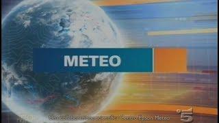Canale 5 - Meteo - Domenica 8 Febbraio 2009 #HD720/50p