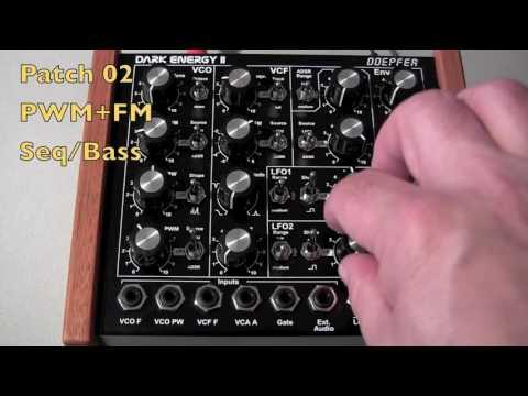 Doepfer Dark Energy II - Three Basic Patches