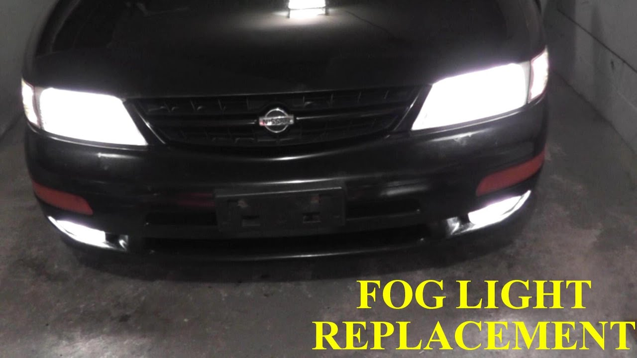 Nissan Maxima Infiniti Fog Light Replacement High Def Youtube Thread How Do You Wire The Lights