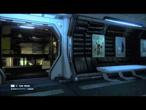 Alien isolation Seal off the Stairwell