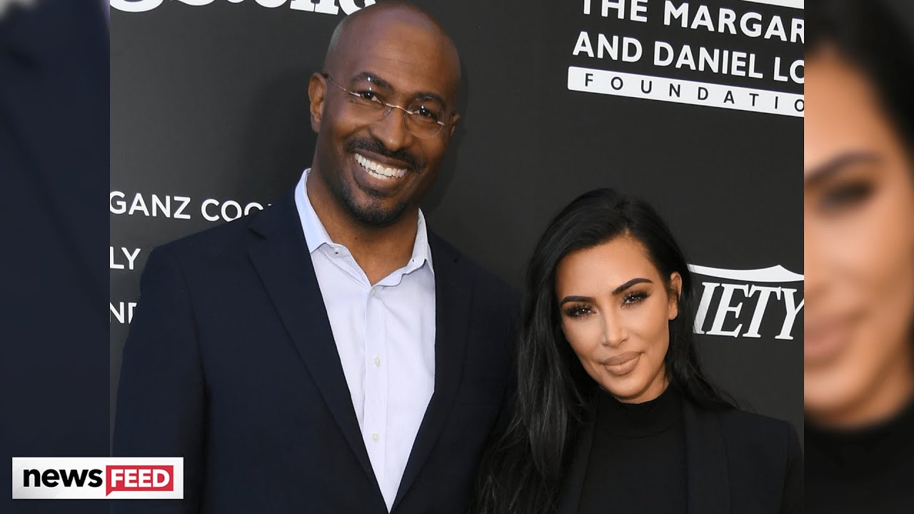 Kim Kardashian Finally Responds to Those Van Jones Dating Rumors