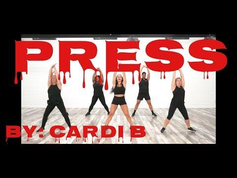 """Press"" By Cardi B - Dance Fitness With Jessica"