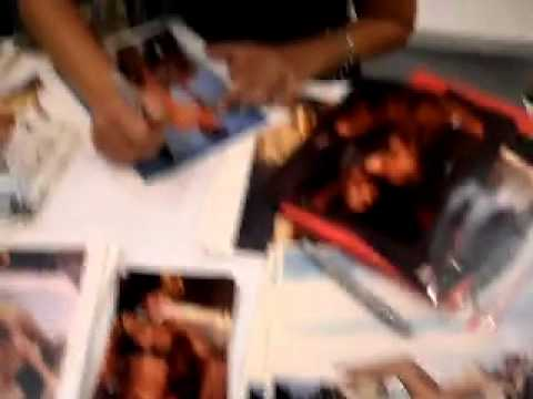 Playboy Playmate LIZ STEWART  07/84 signing autograph @ Glamourcon 52