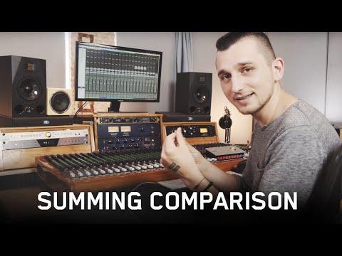Analog vs Digital Summing Comparison (ft. Satori Monitoring Controller & Tegeler Tube Summing Mixer)