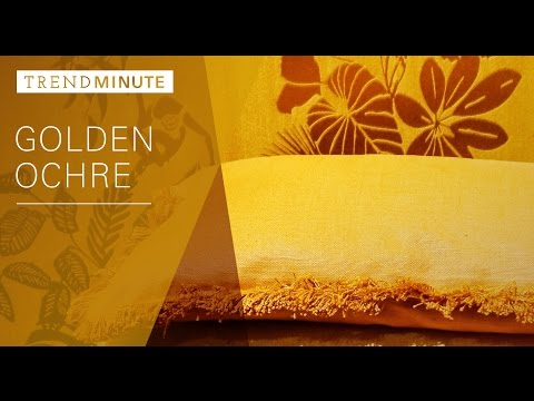 Trend Minute: Golden Ochre