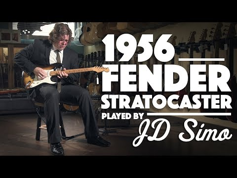 1956 Fender Stratocaster played by JD Simo