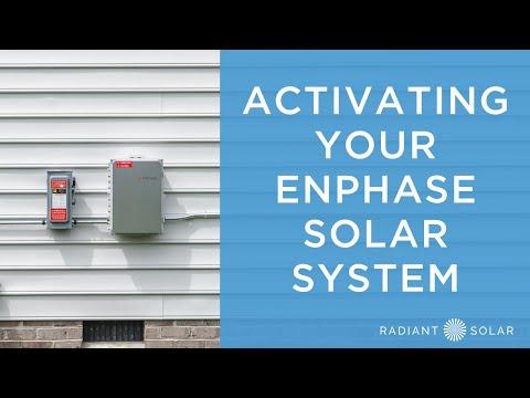 Activating Your Enphase Solar System // Radiant Solar