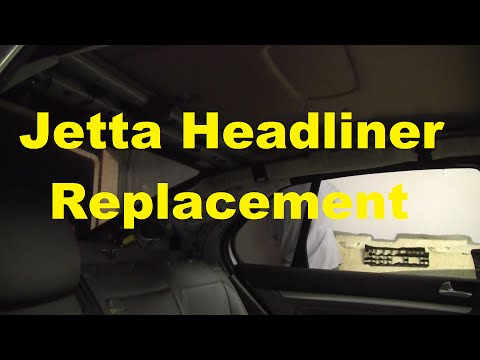 How To Replace The Headliner In A 2015-2011 Jetta