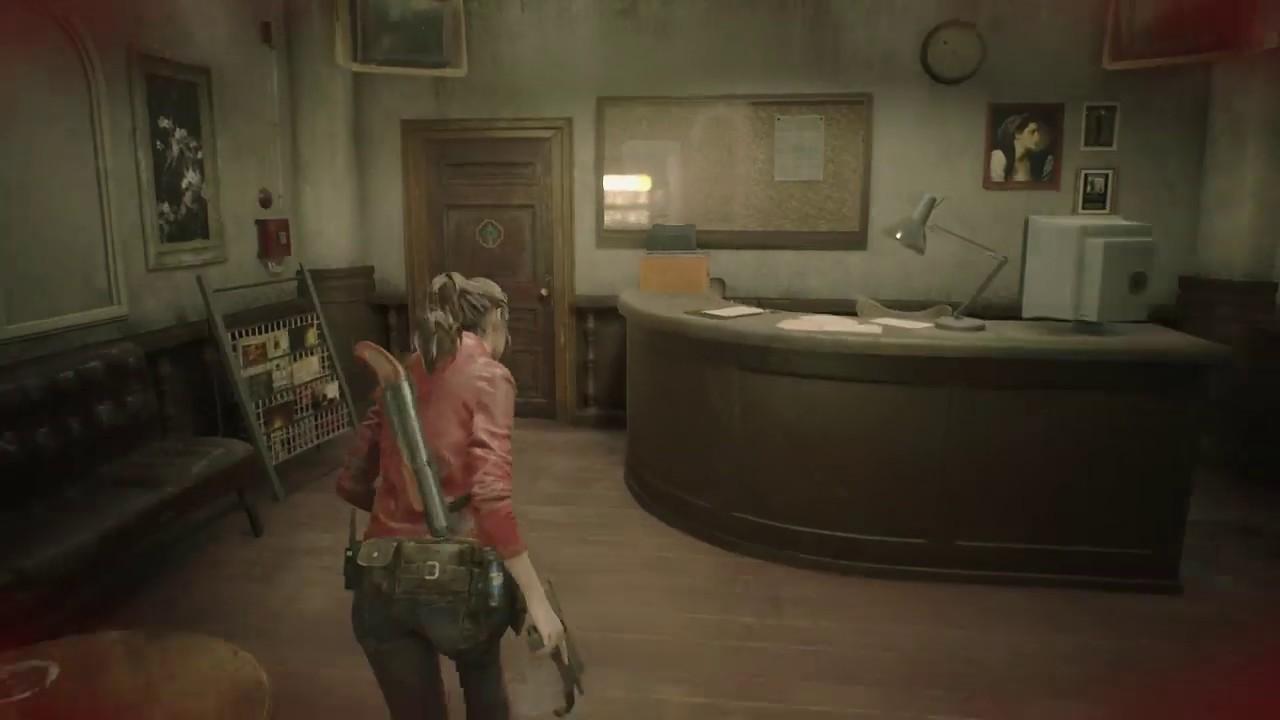 Resident Evil 2 Get Car Key 7439
