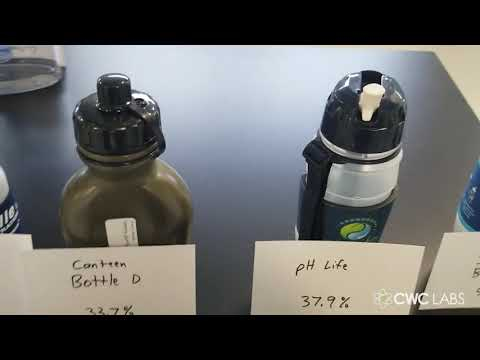 Glyphosate water filter lab test results released by Natural News