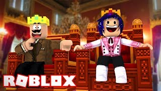 CALLUM AND CHELSEA GET MARRIED AND BECOME KING AND QUEEN! Roblox Kingdoms!