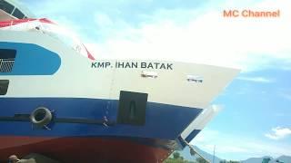 Detik Detik Peluncuran KMP IHAN BATAK Ke Danau Toba