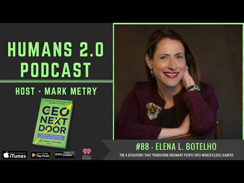 #88 - Elena Botelho | The 4 Behaviors that Transform Ordinary ...