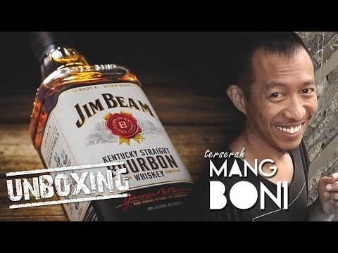 UnBoxing Jim Beam® Kentucky Straight Bourbon Whiskey