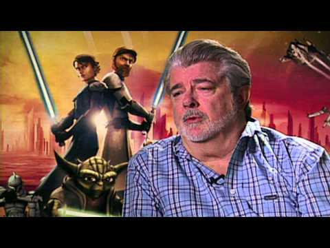 Star Wars The Clone Wars: George Lucas Exclusive Interview
