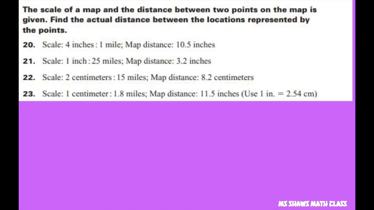 The scale of map and distance between two points on map are given. on distance quotes, distance formula, distance between points in space, distance between pair of points, distance time graph, distance between four points, finding distance between points, point one to two points, distance examples, distance math, distance and midpoint problems, distance from point to plane, distance equation, distance theorem, distance physics,