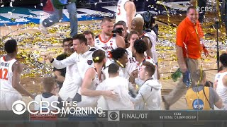 Virginia wins first NCAA basketball championship in epic comeback