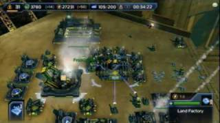 Supreme Commander 2 Xbox 360 Gameplay