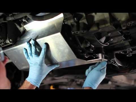VW TDI BEW Oil Pan Armor Install