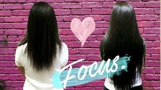 70 см ВОЛОС за ОДИН ДЕНЬ💜 наращивание волос