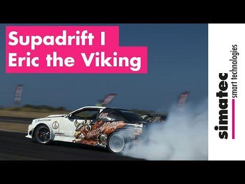 Sponsored By Simatec: Supadrift Pilot Eric The Viking