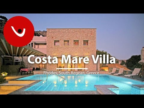 Costa Mare Villa to Rent in Rhodes Greece | Unique Villas | uniquevillas.gr