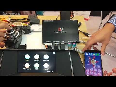 Cartizan VI-BMW-14C - Videointerface Med Apple Carplay Og Android Auto For BMW NBT