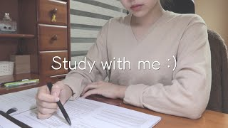 Study with me | 경희대생과 같이 공부해요 …
