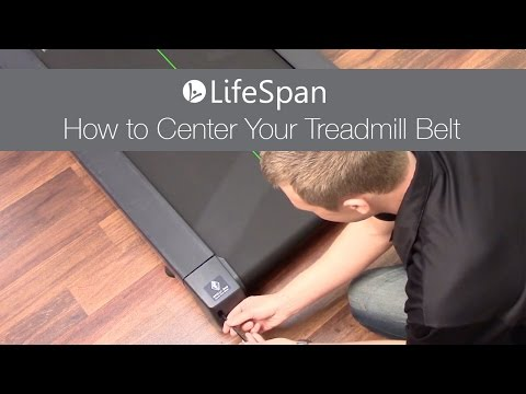 LifeSpan: How to Center Your Treadmill Belt