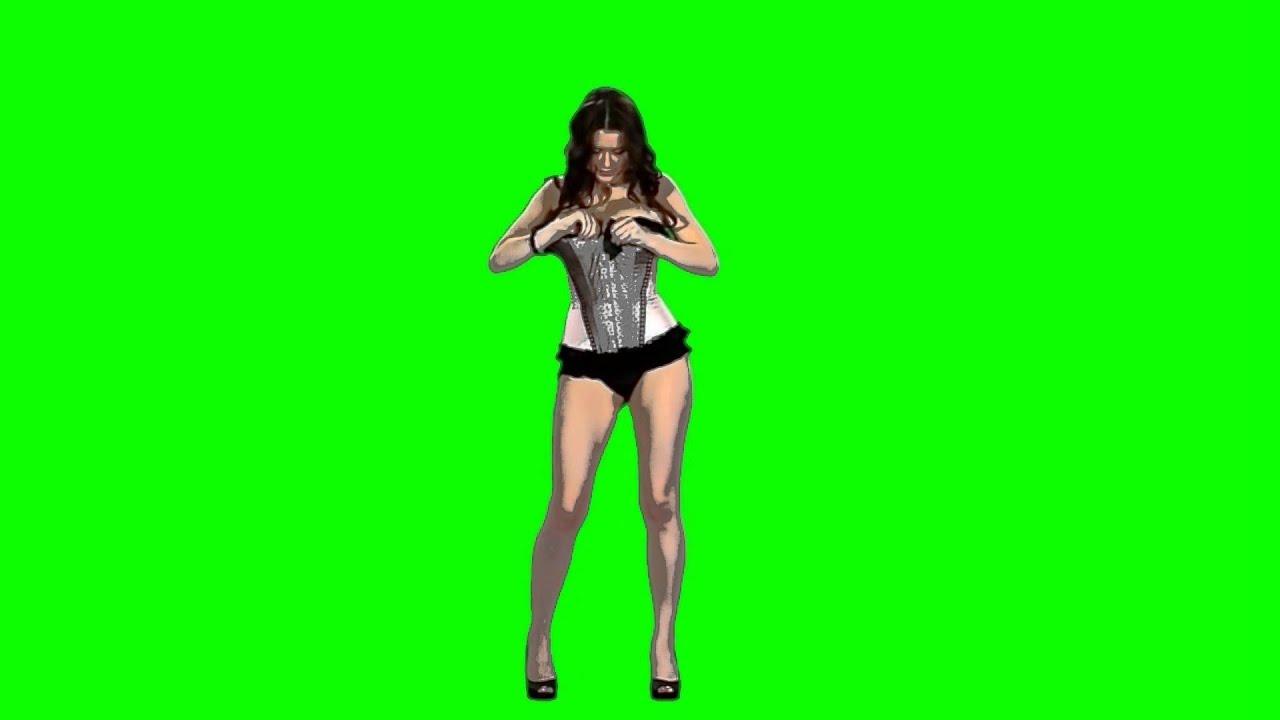 Green Arrow Wallpaper Hd Pantalla Verde De Chicas Sexis Girl Dancing Youtube