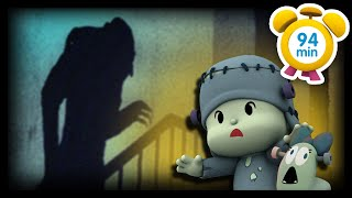 💀 POCOYO in ENGLISH - The Best Horror Movies [94 min] |Full Episodes | VIDEOS and CARTOONS for KIDS