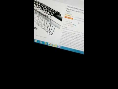 Shower curtain hooks review