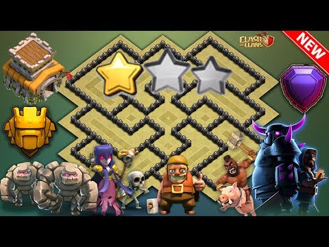 Th8 War Base 2018 Anti Dragon Anti Hog Anti Gowipe Anti 2 Star Anti 3 Star Anti Valkyrie