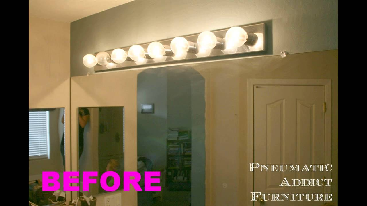 Bathroom Vanity Light Fixtures Ideas Youtube