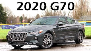 2020 Genesis G70 Review // With BMW M340i Comparisons