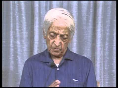 Are people who follow a discipline and come upon the immeasurable self-deluded? | J. Krishnamurti
