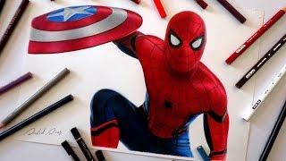 Speed Drawing: Spider Man - Civil War