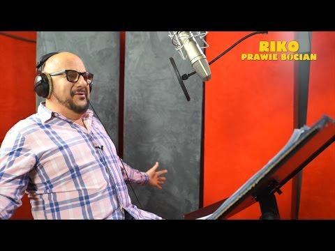 PIOTR GĄSOWSKI śpiewa piosenkę do animacji RIKO PRAWIE BOCIAN