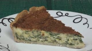 Cheese and Spinach Quiche Recipe
