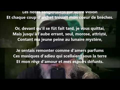 Violon d'adieu - Émile Nelligan lu par Yvon Jean