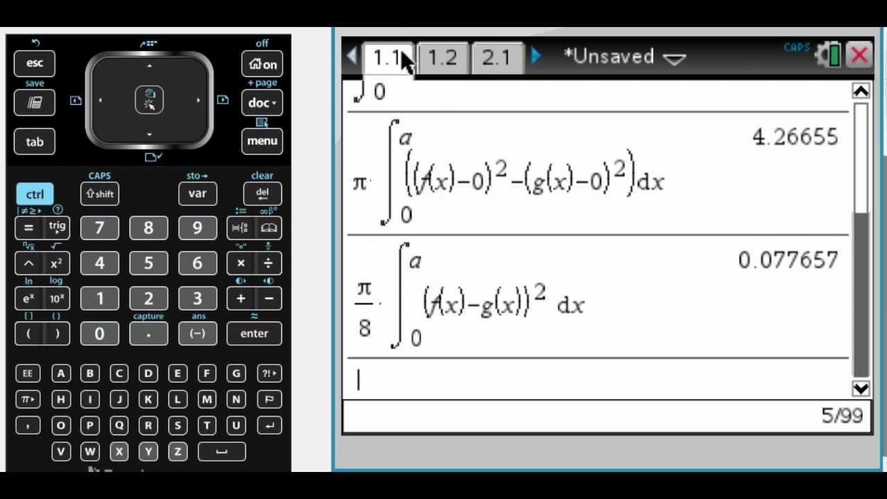 Calc AB 2005 (Form B) FRQ #1 - YouTube